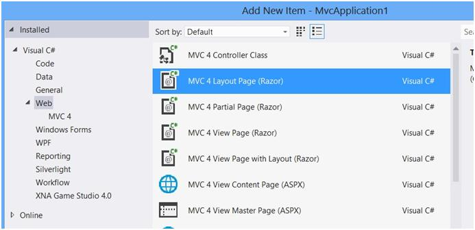 How to Create Layout in ASP.NET MVC Project ?