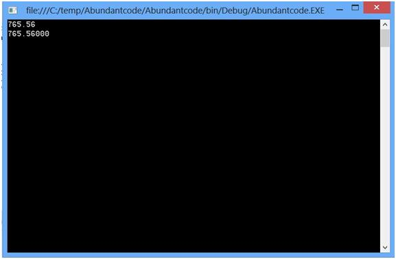 Fixed-Point Numeric Formatting in C#