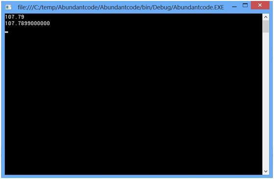 Number Formatting String (N) in C#