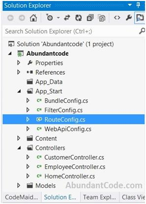 How to Create and Register a Route in ASP.NET MVC ?