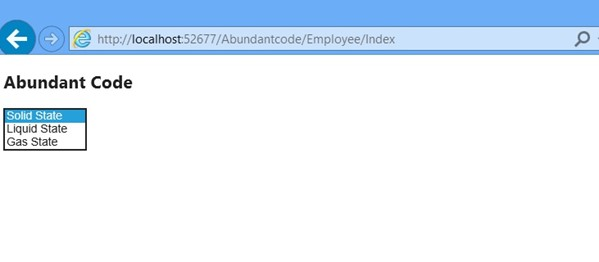How to Populate the DropDownList in ASP.NET MVC Razor View?