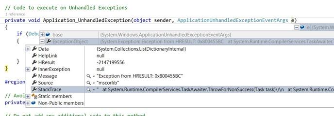 Exception from HRESULT: 0x800455BC Error when using SpeechRecognizer in WP8