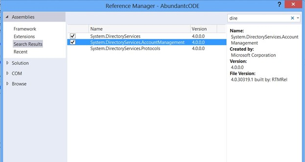 How to validate a user in Active Directory using C#?