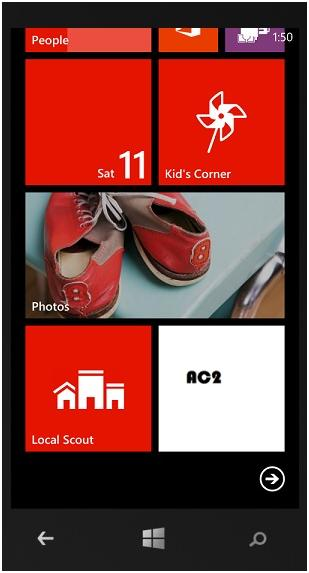 How to Configure Default Application Tile of an App in Windows Phone 8 ?