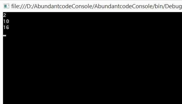 How to List out only Even Numbers from a List of Integers using Lambda Expression in C#?