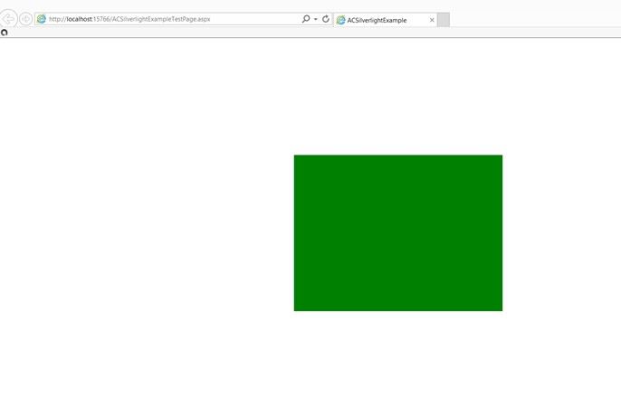 Creating a Simple Canvas in Silverlight using XAML