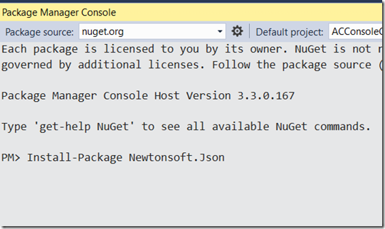 How to Install Json.NET for your VB.NET projects in Visual Studio 2015 ?