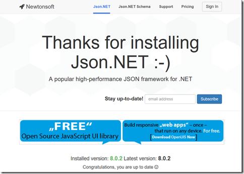 Json NET & VB NET - Installing Json NET for VB NET projects in
