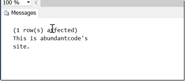 Inserting a line break in the NVARCHAR data in SQL Server