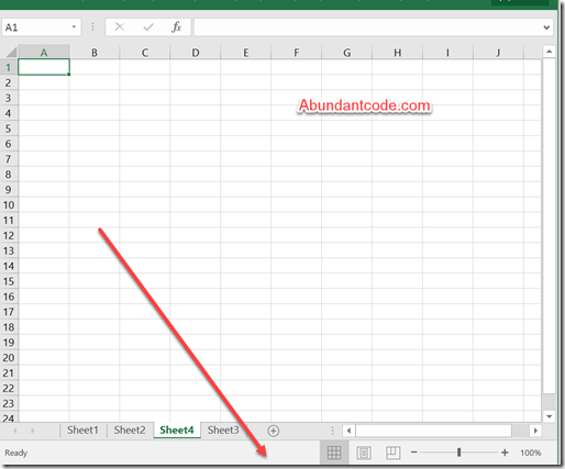How to hide the status bar in Microsoft Excel with the VBA Code?