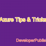 Azure Tip #1 – Services offered by Microsoft Azure