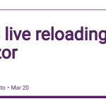 CSS live reloading on Blazor by @jsakamoto