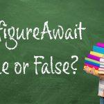 Which do I use, ConfigureAwait True or False? by @brianlagunas